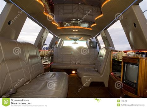Limousine Interior Design by Limousine Interior Stock Photography Image 1632462