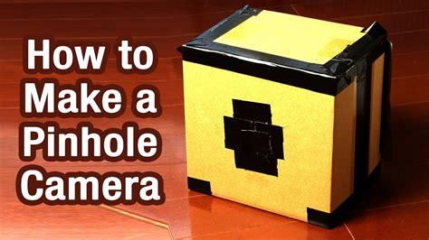 make pinhole how to make a pinhole