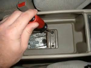 how to remove center console on honda accord