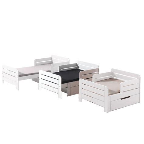 lit evolutif avec tiroir lit 201 volutif quot jumper quot avec tiroir blanc
