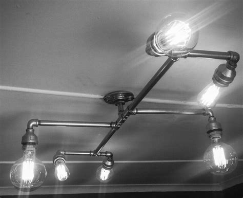 Galvanized Steel Light Fixtures 124 Best Stevo Images On Pinterest Pipe L Galvanized Pipe And Iron Pipe