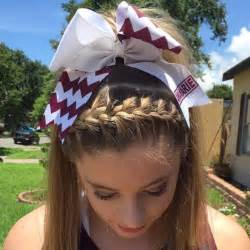 gymnastics cheer competition hairstyles flipping along