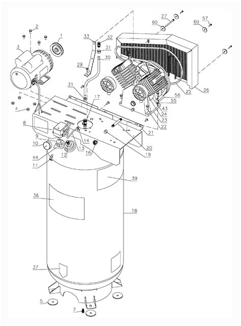 porter cable c7510 parts list porter cable c7510 repair parts oem parts with schematic diagram