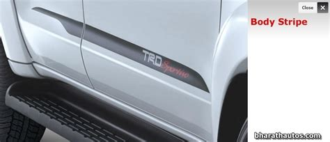Ready Emblem Fortuner Sportivo toyota fortuner trd sportivo limited edition launched at