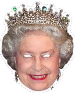 free queen elizabeth printable mask for halloween free
