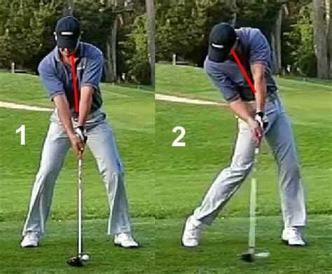 spine angle golf swing critical analysis of theories