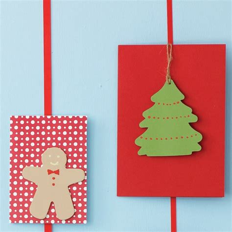 paint wood shapes how to make your own christmas cards housetohome co uk