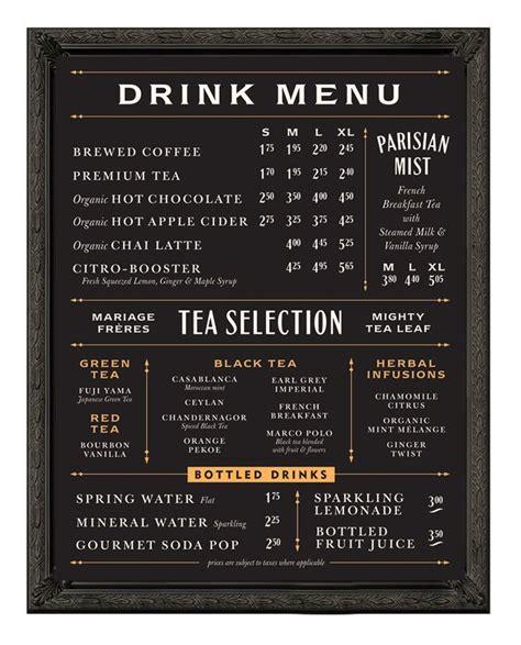 design font cost best 25 coffee menu ideas on pinterest coffee shop menu