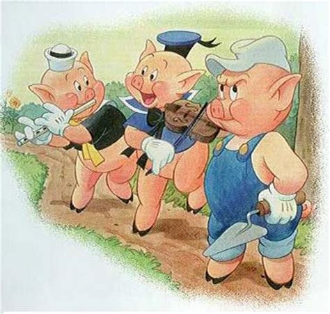 libro the three little pigs disney los tres cerditos