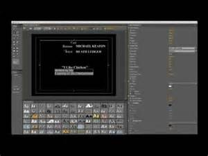Adobe Premiere Credits Template How To Create Credits In Adobe Premiere Pro