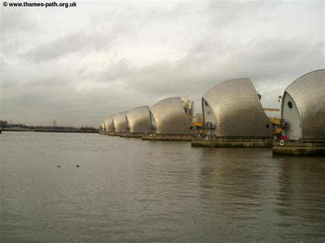 thames barrier images the thames path the thames barrier to greenwich