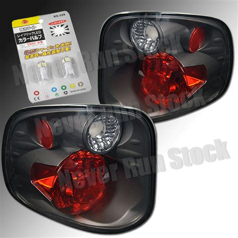 2001 ford f150 tail light assembly ford f150 flareside smoke black altezza tail lights