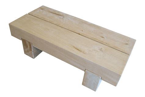 Block Oak Coffee Table The Cool Wood Company Cool Wooden Coffee Tables
