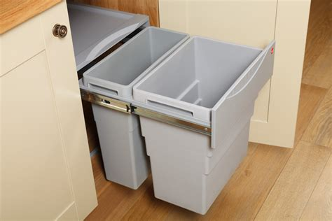Kitchen Cabinet Bins | kitchen waste bins solid wood kitchen cabinets