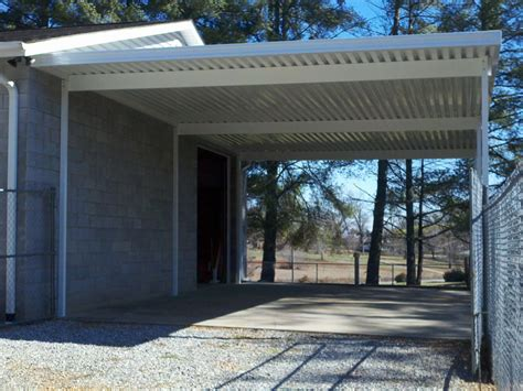 Attached Carport Kits by Carports Commercial Residential Aluminum Venice Fl