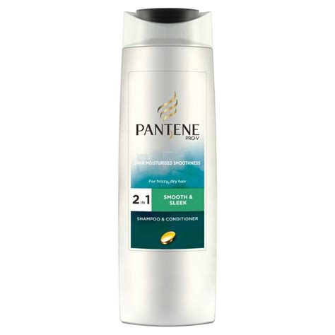 Does Pantene Detox Shoo Work For Test by Pantene Pro V 2in1 Smooth Sleek Shoo Conditioner
