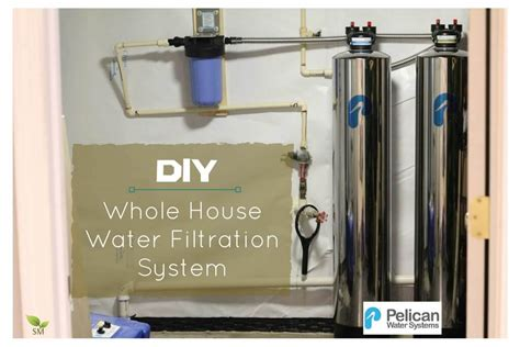 how to install a whole house water filter how to diy