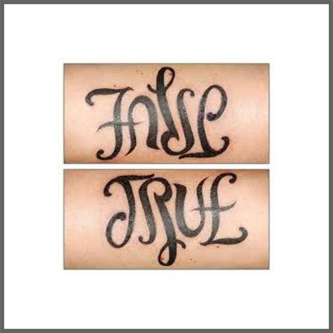 ambigram amp mirror image tattoos should i tattoo