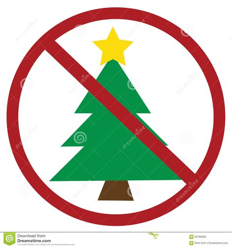 no christmas stock vector image 62780060