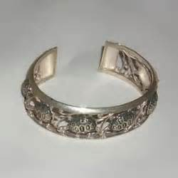 Gelang Motif Cinta bima silver cindramata jogja gelang perak dengan motif