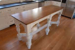 narrow kitchen island table 187 millwork