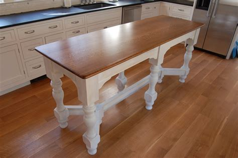 Kitchen Island With Table Island Bench Kitchen Table Afreakatheart