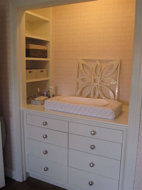 Changing Table In Closet by 1000 Ideas About Changing Table Storage On