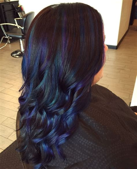 peacock hair color 17 best ideas about peacock hair color on