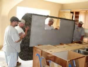 Installing Corbels Granite Countertop Installation Services Kitchens