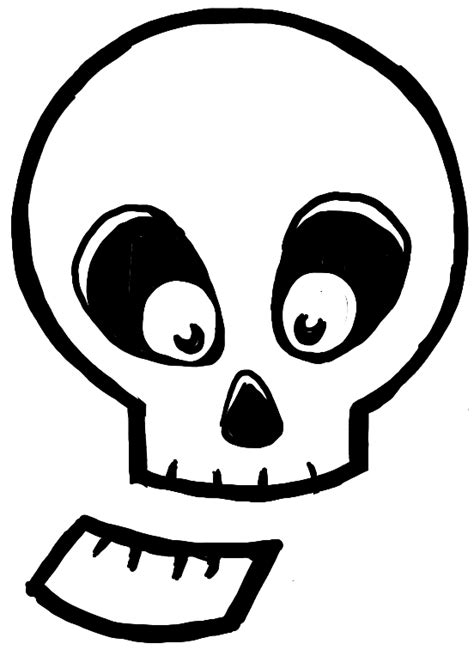 How To Draw Silly Cartoon Skulls For Halloween Easy Tutorial For Kids How To Draw Step By Step Easy Drawings For Toddlers