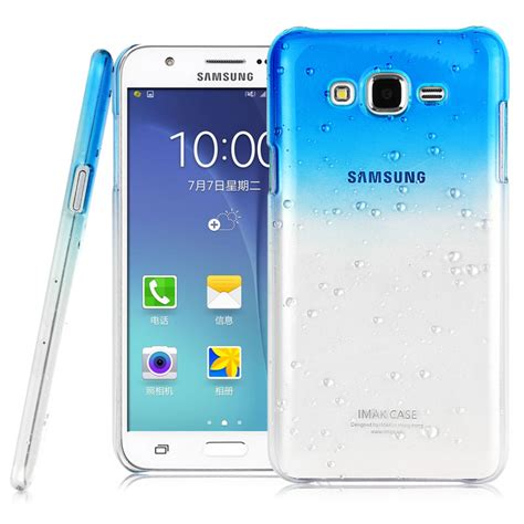 Samsung Galaxy J7 Imak Ruiyi original imak raindrop color for samsung galaxy j5 with retail package in phone