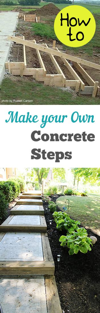 Build Concrete Steps For Your how to make your own concrete steps my list of lists