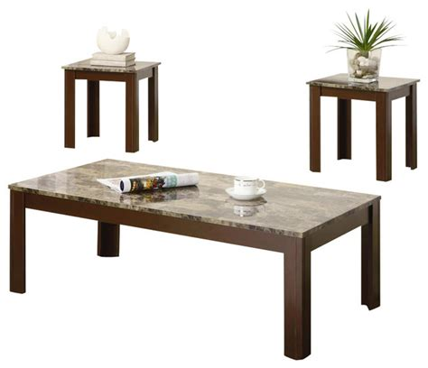 Coaster 3 Piece Occasional Table Sets Cocktail And End 3 Coffee Table Sets