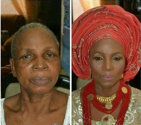70 year old woman what make up to use the power of make up see before after pics of 70 year