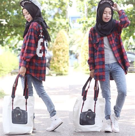 Sepatu Casual Cewek Sporty Kekinian M2m 5 tips fashion nyaman para hijabers wajib tau