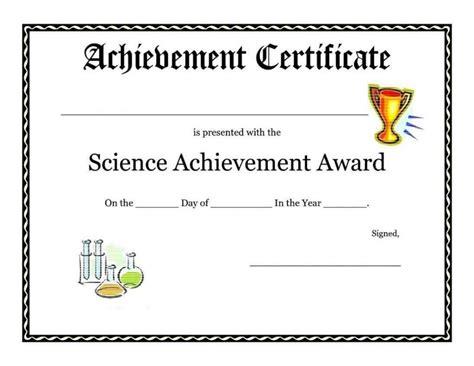 fake award certificates template update234 com
