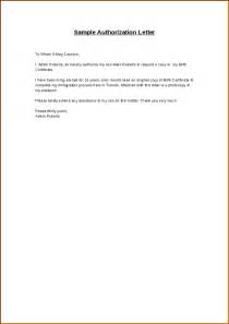 Certificate Authorization Letter Authorization Letter For Birth Certificate Nso Documents