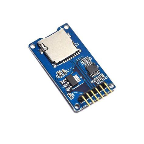 Murah Microsd Card Module Spi Arduino Raspberry Pi lector micro sd tf tarjeta de memoria m 243 dulo escudo spi para arduino somosmakers cl