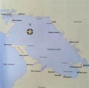 bay map last georgian bay 30 000 islands