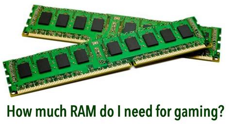 Ram Gaming 4gb how much ram do you need for gaming 4gb vs 8gb vs 16gb