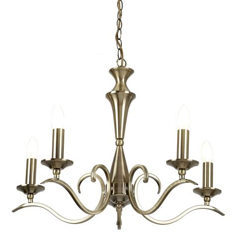 Brass Ceiling Light Fittings Endon Lighting Kora 5 Light Ceiling Fitting In Antique Brass Endon Lighting From Castlegate