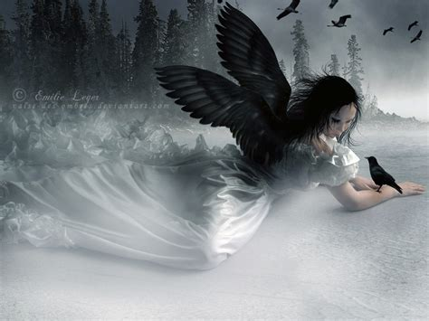 wallpaper hd black angel gothic angel with black swings wallpaper hd widescreen for