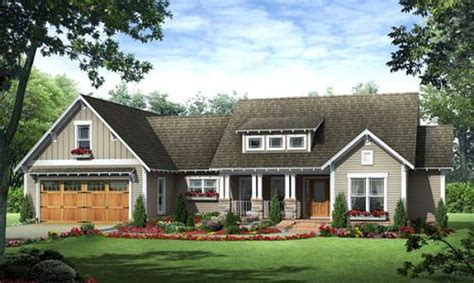 Craftsman Style House Plan 3 Beds 2 Baths 1800 Sq Ft Country House Plans 1800 Sq Ft