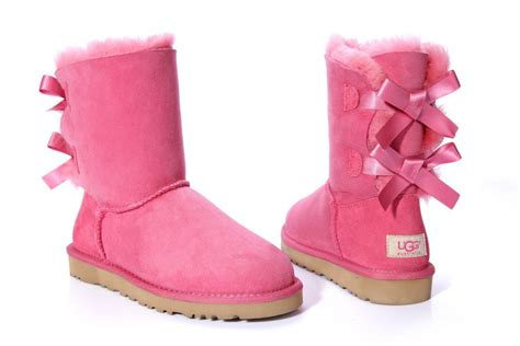 Light Pink Bailey Bow Uggs by Light Pink Bailey Bow Uggs Search On The Hunt