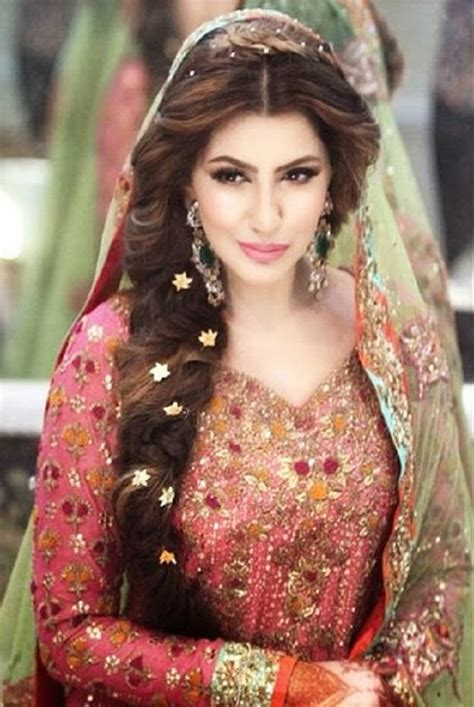 pic braids styles pakistani and indin best indian wedding hairstyles for brides 2016 2017