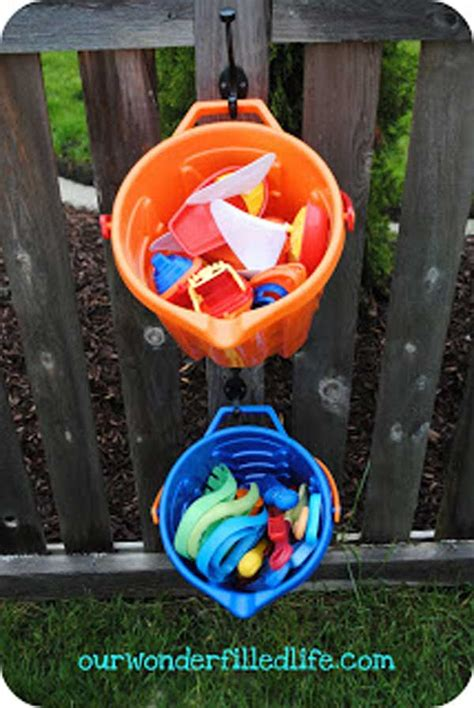 diy backyard toys 24 practical diy storage solutions for your garden and