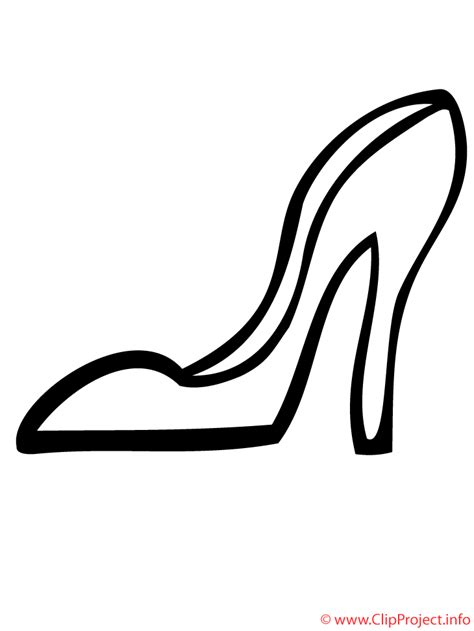 imagenes infantiles de zapatos para colorear zapato con tacones dibujo para colorear gratis