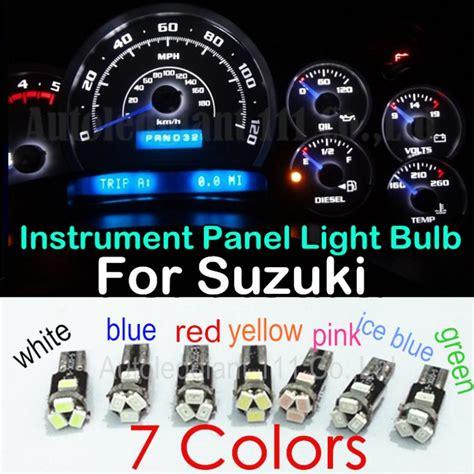 Suzuki Dashboard Warning Lights 10 Unids Led T5 Para Suzuki Estima Forsa Grand