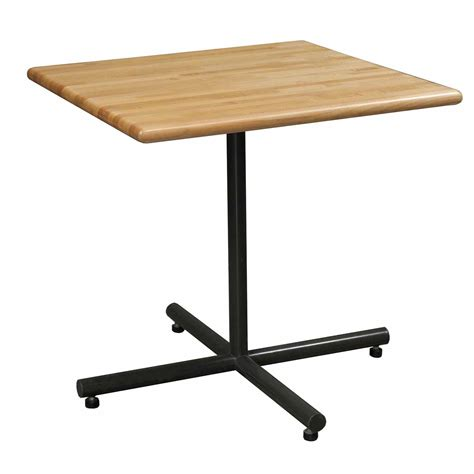 30 X 30 Table by Butcher Block Square 30x30 Table Maple National Office