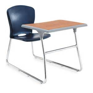 Desk Chair Combo Desk Chair Combo 26w X 40 3 4d X 26h Medium Oak Top Navy